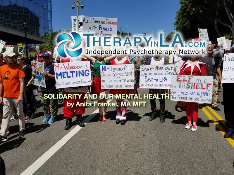 SOLIDARITY AND OUR MENTAL HEALTH