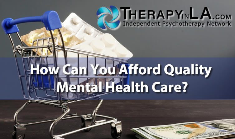 How afford mental health care