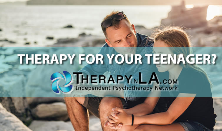 Therapy for your teenager