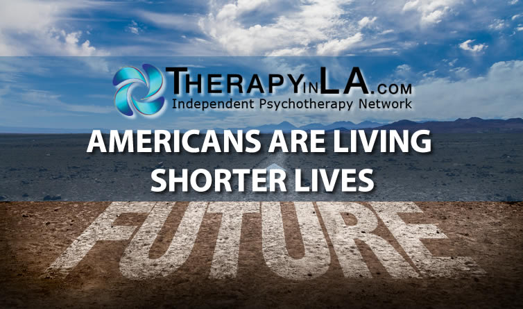Americans are living shorter lives