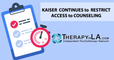 KAISER  CONTINUES to  RESTRICT ACCESS to COUNSELING