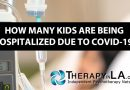 HOW MANY KIDS ARE BEING HOSPITALIZED DUE TO COVID-19?